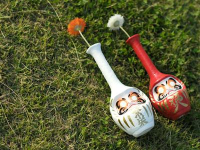 ダルマ花瓶「DARMA Formless」の写真