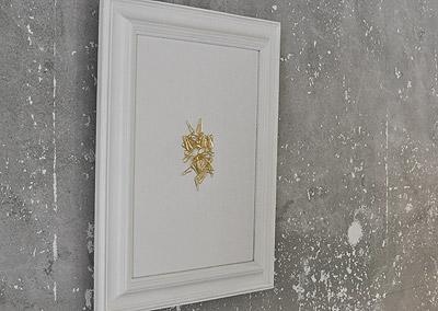 """ティッシュが絵になるティッシュケース「eninal [Antique Frame Edition] - 003 """"Tray""""」の写真"""