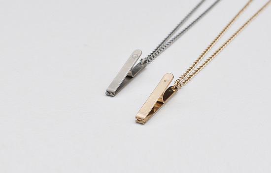 宝石を見つけて装うアクセサリー「pick a jewel」ペンダント(ネックレス)の写真