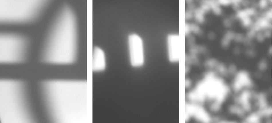 街で見かけた光と影の模様を印刷したレターペーパー 「Patterned Paper」の写真