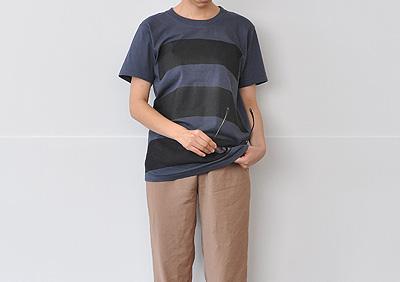 ケータイ(携帯)やメガネ(眼鏡)を拭けるTシャツ 「wipe T shirt(ワイプティーシャツ)」の写真