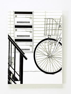 レターラック「階段下の郵便受け」empty