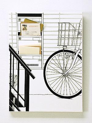 レターラック「階段下の郵便受け」手紙入り