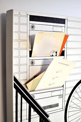 レターラック「階段下の郵便受け」レター部分