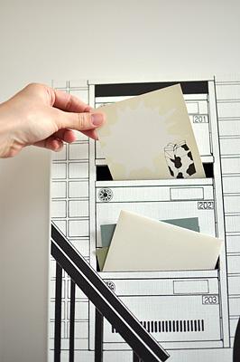 レターラック「階段下の郵便受け」投函