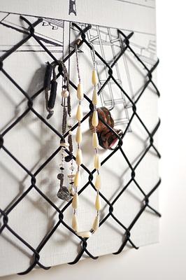 小物ハンガー「フェンス越しの遊具」アクセサリー