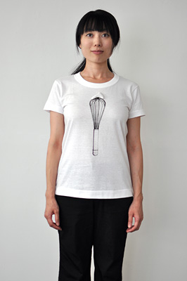 SHIKISAI Alternative T-shirt, Whisk, ladies
