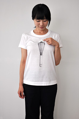 SHIKISAI Alternative T-shirt, Whisk, ladies