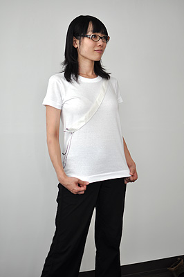 SHIKISAI Alternative T-shirt, Shoulder Bag, ladies