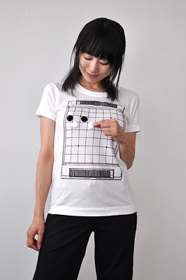 SHIKISAI Alternative T-shirt, Reversi, ladies02