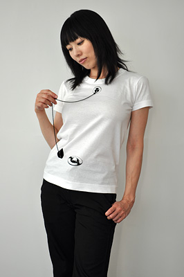 SHIKISAI Alternative T-shirt, Bath Plug, ladies 02