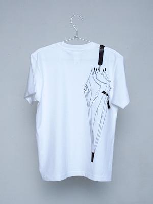 シキサイTシャツ「傘」バック