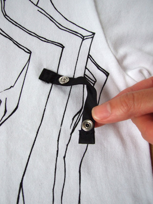 シキサイTシャツ「傘」詳細