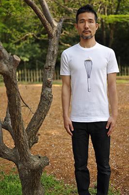 かわいいTシャツ「泡立て器」モデル