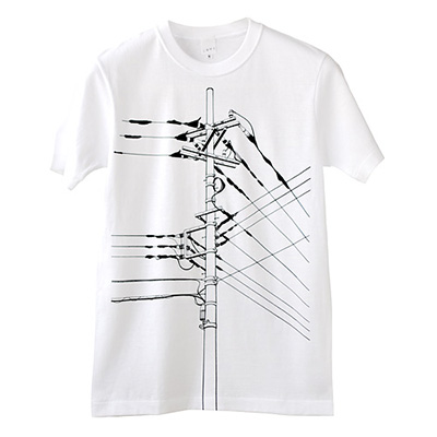SHIKISAI Alternative T-shirt, Power Pole