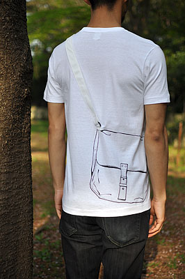 SHIKISAI Alternative T-shirt, Shoulder Bag, model