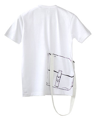 SHIKISAI Alternative T-shirt, Shoulder Bag, strap
