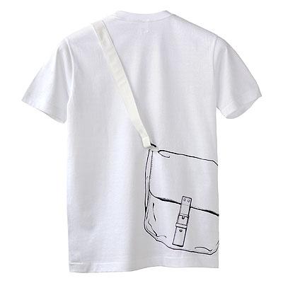 シキサイTシャツ「カバン」後