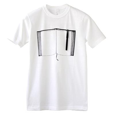 雑貨Tシャツ「ペンとノート」