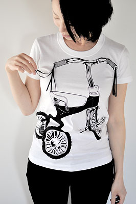 SHIKISAI Alternative T-shirt, Tricycle, ladies02