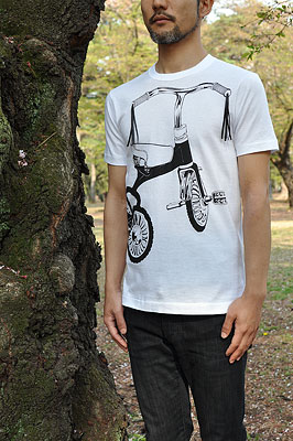 SHIKISAI Alternative T-shirt, Tricycle, mens