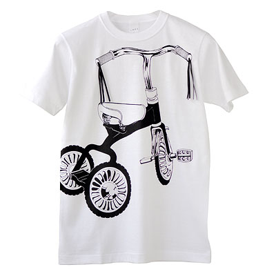 SHIKISAI Alternative T-shirt, Tricycle