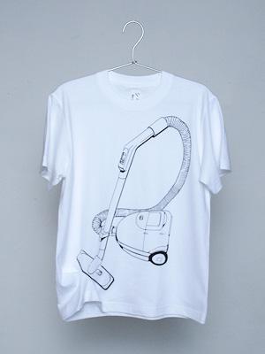 シキサイTシャツ「掃除機」