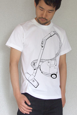 SHIKISAI Alternative T-shirt, Vacuum Cleaner, model