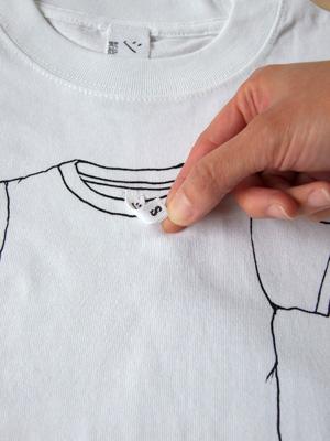 シキサイTシャツ「ティーシャツ」タグ拡大2