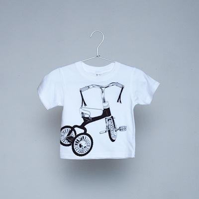シキサイこどもTシャツ「しゃんりんしゃ」