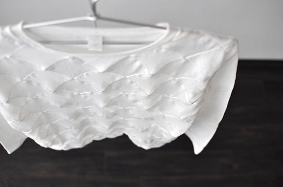 長袖Tシャツ「90° パッチワークの立体化」