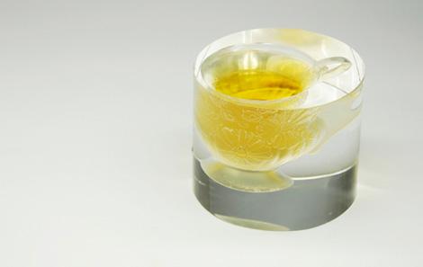 ガラスのカップ/オブジェ「CUP」