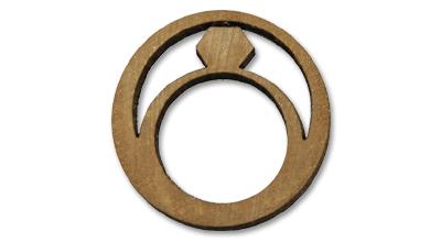 木製糸巻きがジュエリーに「糸髪環/ITO-HAKKAN」