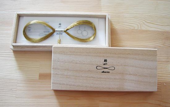真鍮リサイクル・蝶ネクタイ「結 -yui-」